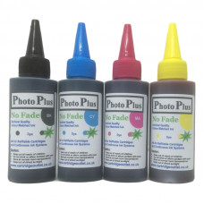 400ml of Archival Ink Compatible with Brother Printers - 4 Colour CMYK.