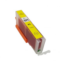 Compatible Cartridge for Canon CLI-571 High Capacity Yellow Ink Cartridge.